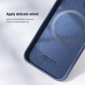 Image 4 - Voor Iphone 12 Pro 12 Pro Max Case Nillkin Camshield Zijdeachtige Magnetische Case Zachte Siliconen Slide Camera Bescherming Cover Voor IPhone12