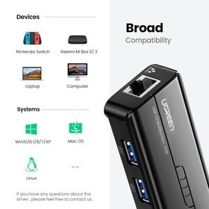 Image 4 - Ugreen adaptador Ethernet para Xiaomi Mi Box 3/S, decodificador de señal, tarjeta de red, USB 3,0, 2,0 a RJ45