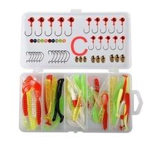 Fishing Lure Set Artificial Bait Treble Hooks Suit Hard Crankbait Carp Bass Pike Kit
