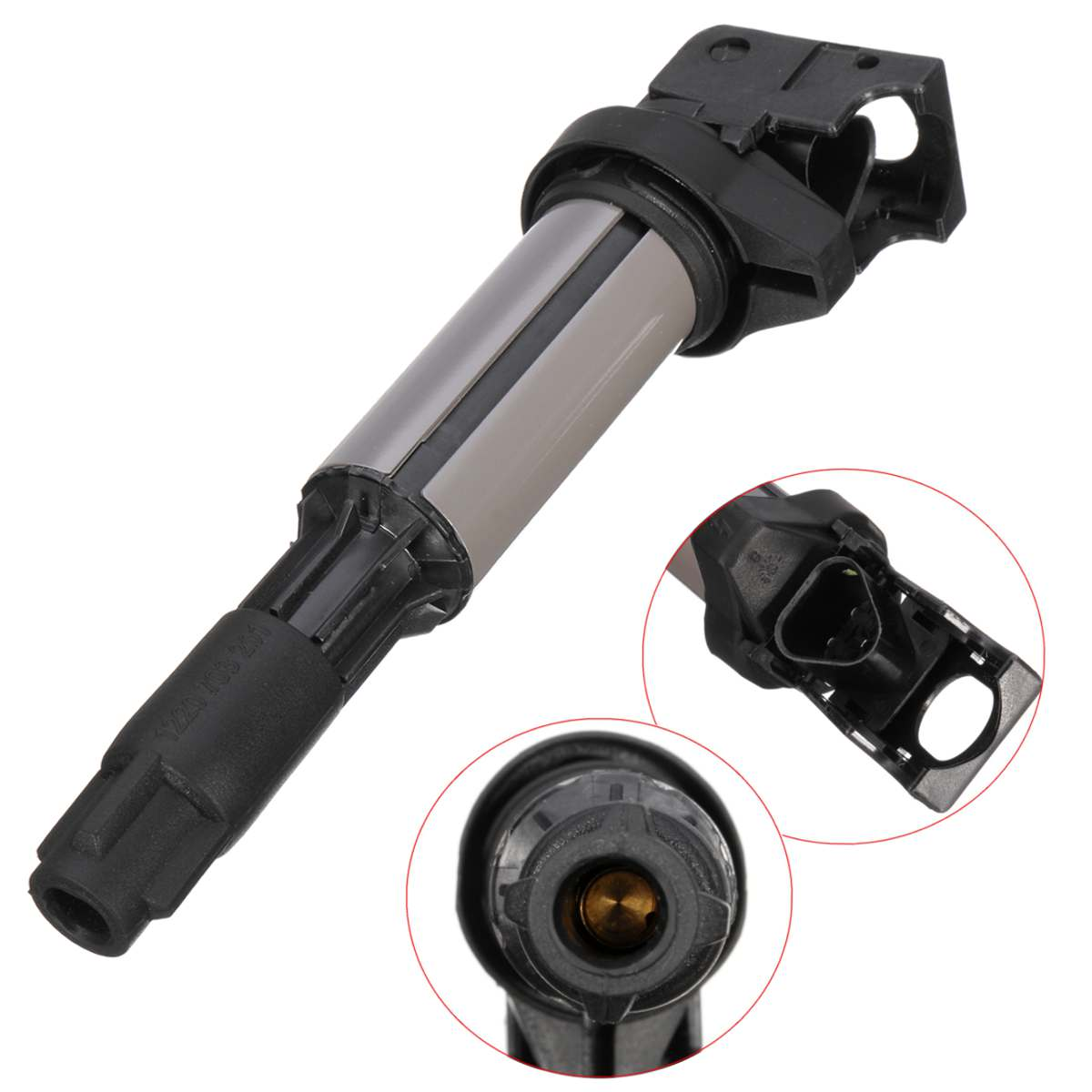 1x New Ignition Coils For BMW E46 E53 E60 E70 E71 E90 X3 X5 M3 Z4 12131712219|Ignition Coil| |  - title=
