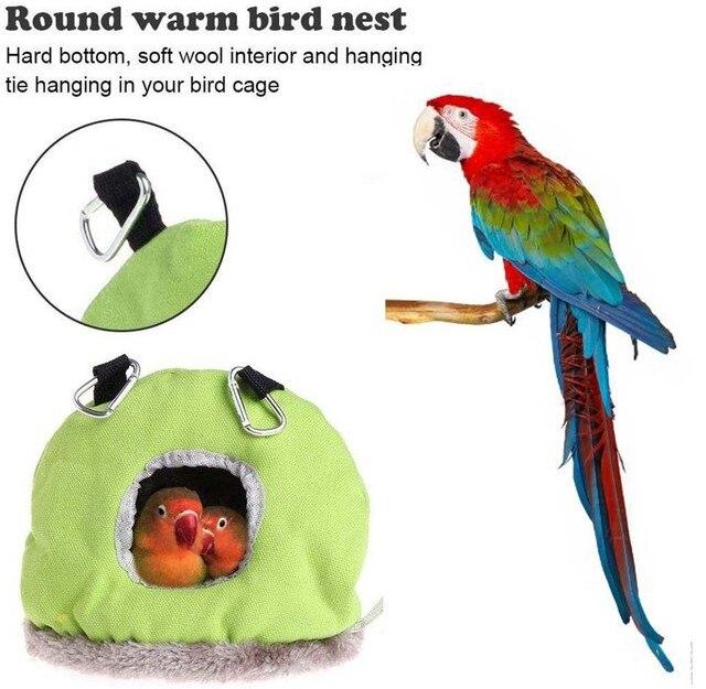 Colorful Comfortable Parakeet Hut 2