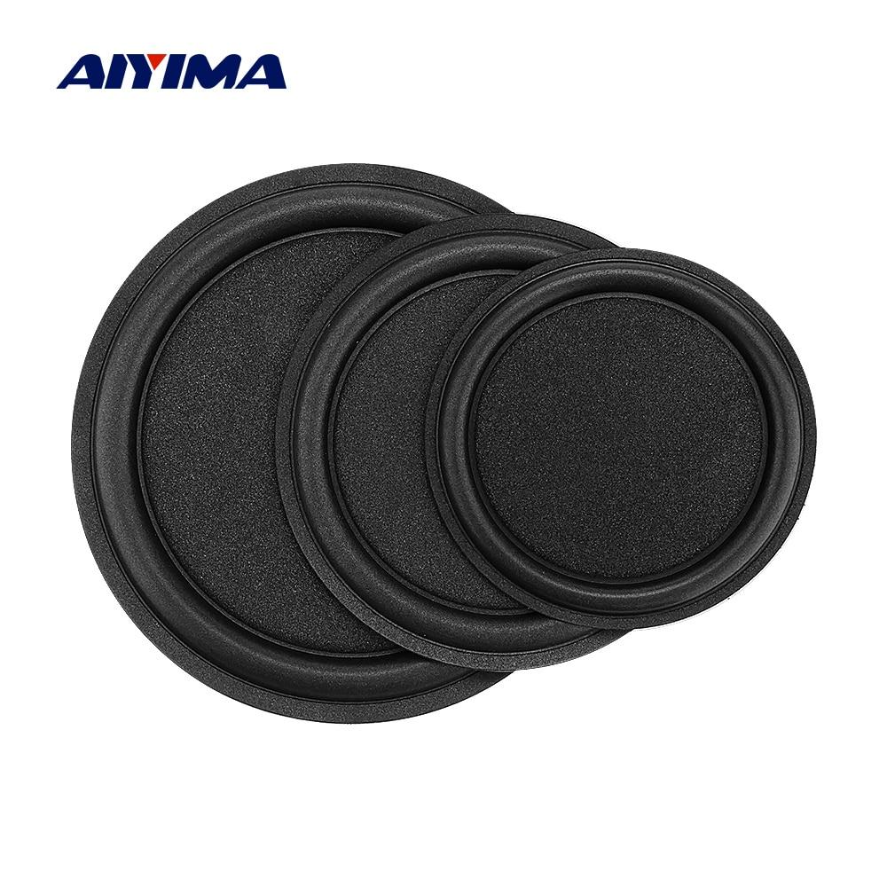 AIYIMA 2Pcs Woofer Speaker Passive Radiator 5 6 8 Inch Sponge Edge Diaphragm Auxiliary Strengthen Bass Vibration Membrane