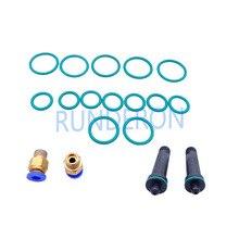Dizel servis atölyesi Common Rail enjektörleri test tezgahı sıkma sızdırmazlık o ring ortak tamir kiti Bosch Denso
