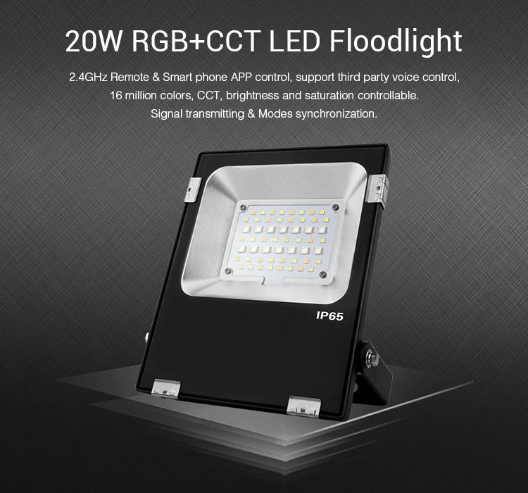 Miboxer FUTT04 20W RGB+CCT LED Floodlight AC100~240V Outdoor Lighting refletor focos led lights lamp led flood light for jardin