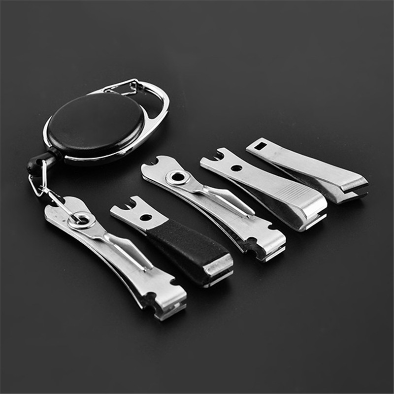 Fishing Quick Knot Tool Fast Tie Nail Knotter Line Cutter Clipper Nipper With Retractor Fly Tying Tool Tackle Gear