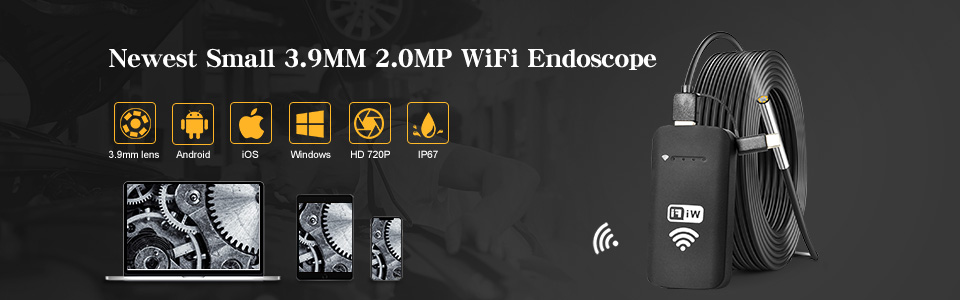 H099c64578d77438eb0d9354590cbd7cdU 5.5MM Android Endoscope 3 in 1 USB/Micro USB/Type-C Borescope Inspection Camera Waterproof for Smartphone with OTG and UVC PC