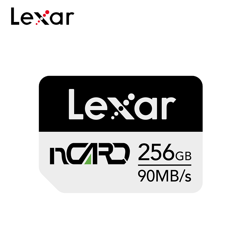 100% Original Lexar Memory Card 256GB N Card High Speed Reading 90M/s 64GB 128GB For Huawei Nano Card