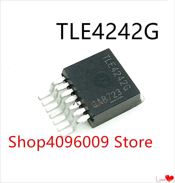 TLE4242G  {TLE4242} Adjustable LED Driver IC