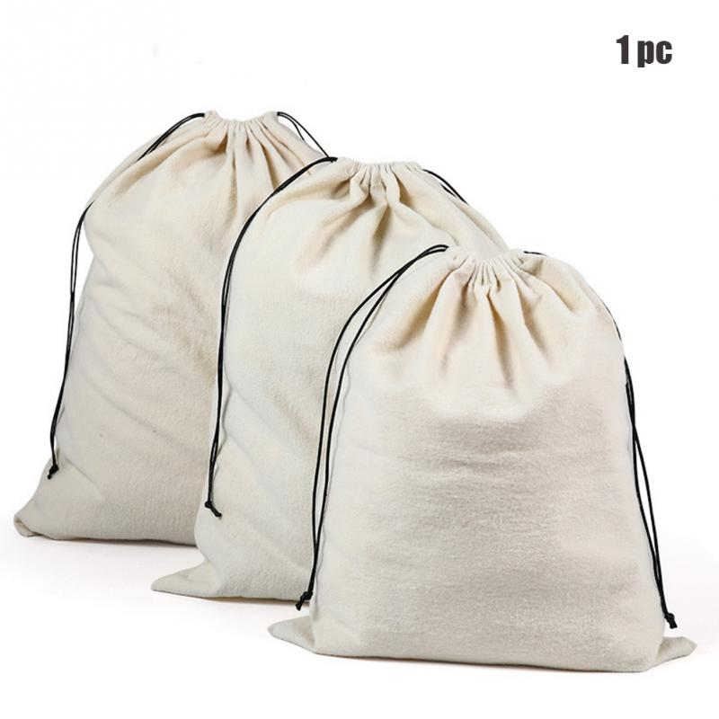 1pc Reusable Drawstring Bag Shopping Home Shoes Underwear Package Pouch Dust Proof Organizer Jewelry Clothes Storage Travel Tote