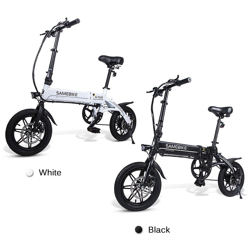 Lixada Elektrische Fahrrad 14 Inch Klapp Elektrische Bike Power Unterstützen E-Bike Roller Für Outdoor Radfahren 250W Motor fahrrad