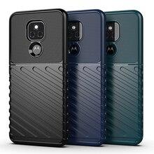 For Motorola Moto E7 Plus Case Cover Shockproof Bumper Rubber Armor Rugged Back Cover Moto E7 Plus Phone Case For Moto E7 Plus