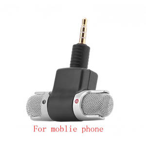 Audio-Microphone Voice-Lecture Interview Used-For Omnidirectional Mini