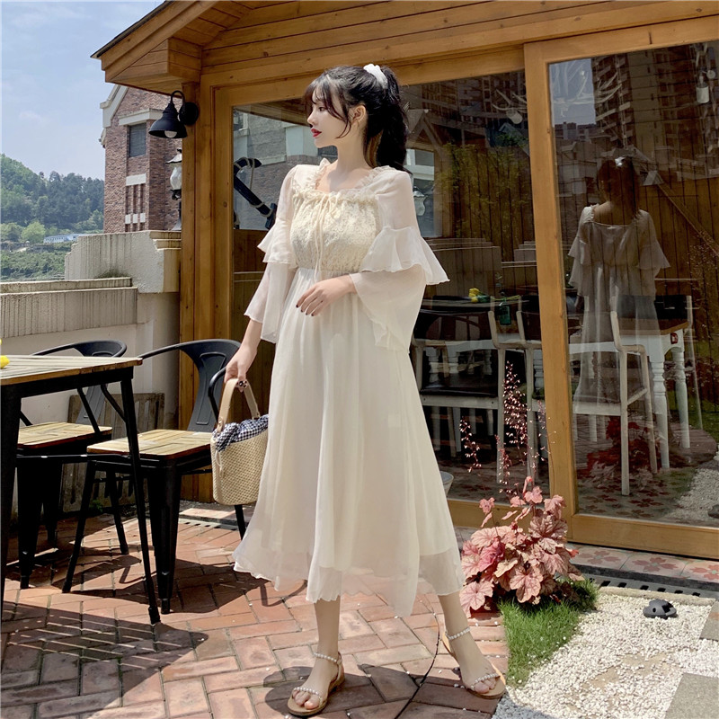 Fairy Dress Fashion 2020 Summer New fairy dress tea party lolita dress sweet lolita doll medieval  princess lolita dress