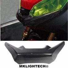 MKLIGHTECH For HONDA X-ADV 300 750 1000 2017-2019 Motorcycle Carbon Fiber Front Fairing Aerodynamic Winglets Lower Cover