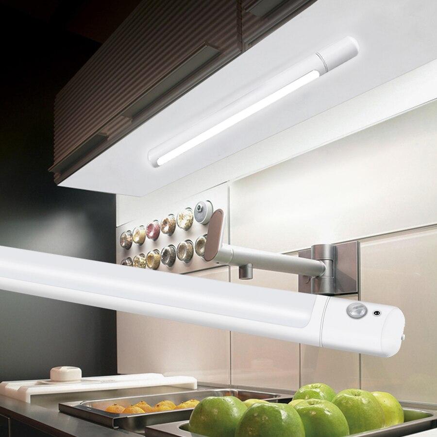 Manyetik DC 5V USB şarj edilebilir mutfak ışığı 3 modu hareket sensörü dolap ışığı gardırop dolap için merdiven acil aydınlatma|Kabin Altı Işıkları|   - AliExpress