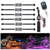 36 LED Motorcycle Signal Lights Wireless Remote Control Motorcycle Engine Wheel Accent Neon Style Light Kit review