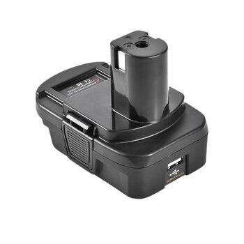 Dm18Rl Lithium Battery Convertor Adapter For Milwaukee Ryobi 20V/18V P108 Abp1801 Li-Ion Battery eleoption with charger 18v 5000mah li ion rechargeable battery for ryobi 18v battery and charger p108 p310 for one biw180