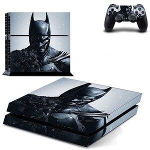 Image 4 - バットマンPS4ステッカープレイステーション4スキンステッカーのためのプレイステーション4 PS4コンソールとコントローラスキンビニール