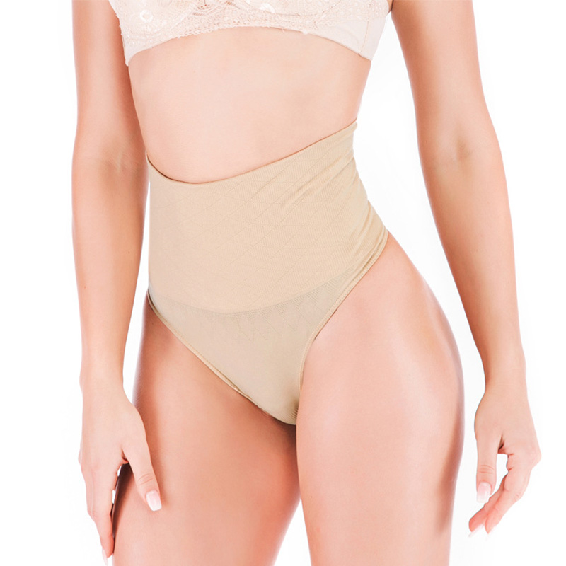 Panties Women Fashion Cozy Lingerie  High Waist Seamless Lifting Hips Body Shaping Female Briefs High Quality Cotton  O66