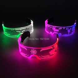 3 Style LED Light up Glasses with multi-functions LED Colorful Luminous Glasses Technology Glowing Glasses For Glow Party