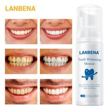 New Teeth Whitening Mousse Tooth Whitening Cleaning White Teeth Oral Hygiene Toothpaste Bleaching Remove Stains Dental Tool