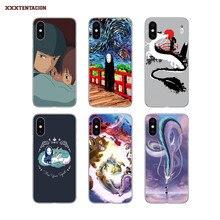 Transparante Tpu Case Spirited Away Miyazaki Anime Voor Htc Een M10 9 8 7 Desire 630 530 626 628 816 820 830 X9 A9 E9 U11 U12 Plus