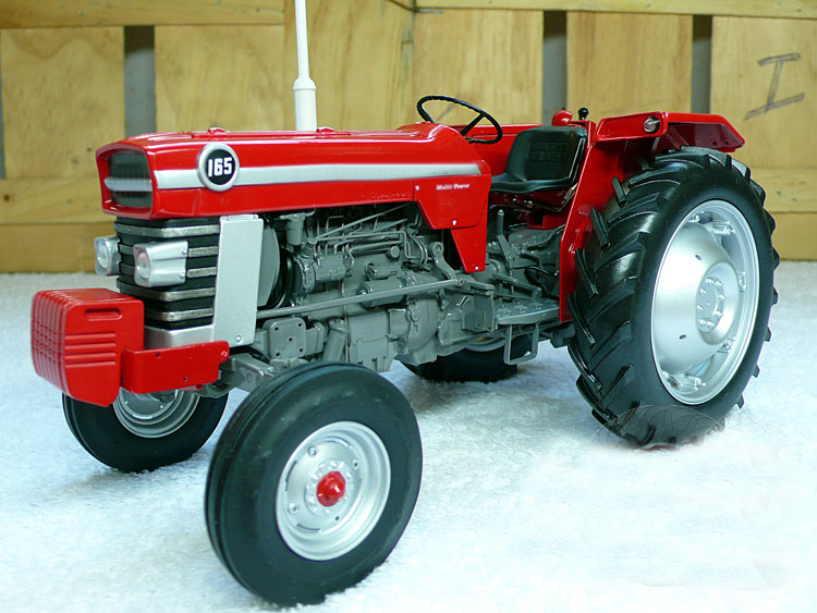 Special Offer fine 1:16 <font><b>4052</b></font> M F 165 III retro tractor Agricultural Vehicle Model Alloy Collection Model image