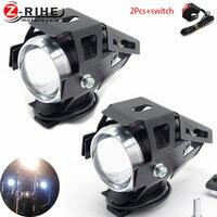 Motorrad LED Scheinwerfer Nebel Licht Fahren Spot Kopf Lampe Schalter Zubehör 12V für Benelli TNT300 TNT600 TNT 899 1130 300 600