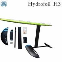 foil SUP aluminium hydrofoil AD H3 foil with aluminium 47/65/70/75cm mast 3K carbon wings aluminium Fuselage hydrofoil surfboard