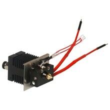 Neue 2 in 1 heraus Hotend Kit Für Geeetech A10M A20M 3D Drucker Vermeiden Verstopfen oder Jamming 1,75mm Filament 0,4mm Düse Extruder
