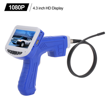 Digital Endoscope LCD Borescope Videoscope Hand-held Endoscopes with CMOS Sensor Inspection Camera Handheld Endoscope