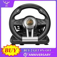 iBen PXN V3II Racing Game Steering Wheel 180° Degree USB Vibration Dual Motor Foldable Pedal For PC/PS3/4/Xbox One/Switch