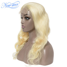 New Star 613 Body Wave Closure Wig Customized 200%Density Brazilian Virgin Human Hair Wigs Honey Blonde 613 Women Lace Wig(China)