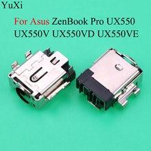 Разъем питания yuxi dc jack для asus zenbook pro ux550 ux550v