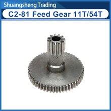 11T/54T Feed Gear SIEG C2-081 Mini-Lathe Saddle Drive Gear