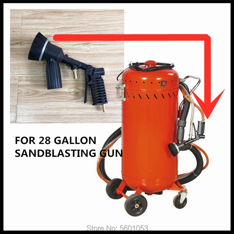 For 28 Gallon Pneumatic Sandblasting Tool Portable Rust Blasting Machine Accessories Gun Head