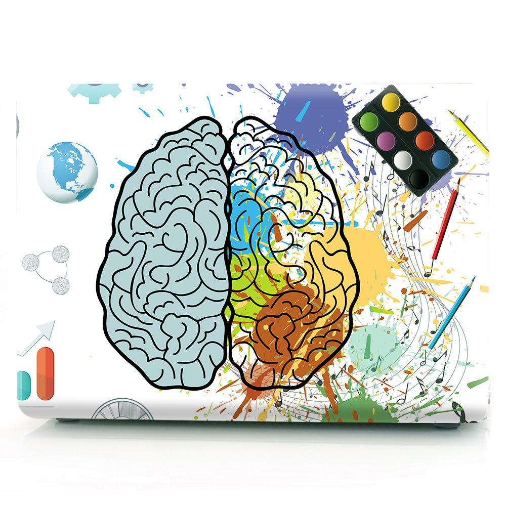 Brain Painting Case for MacBook 135