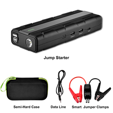 Power-Bank Jump-Starter Automobile Emergency-Supply 12800mah-Car 12V for 7L Gas-Engines
