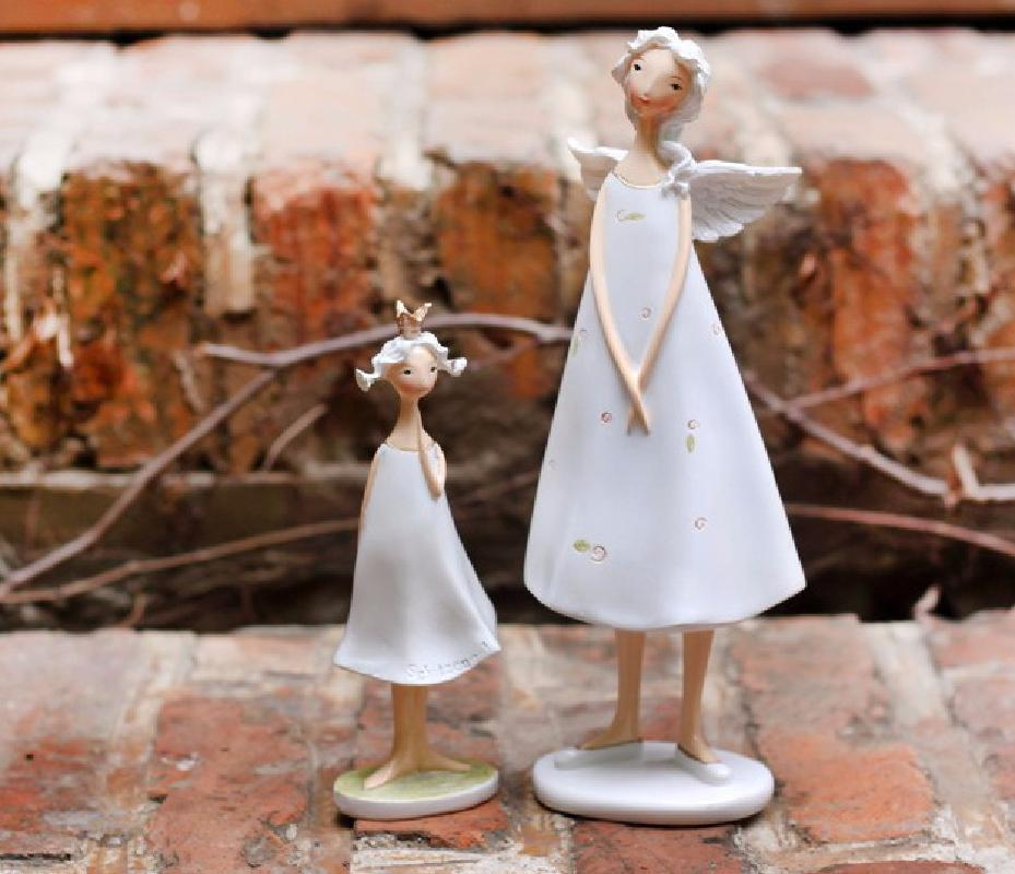 European And American Angel, Mother, Daughter, Elf, Home Decoration Resin, Creative Handicrafts