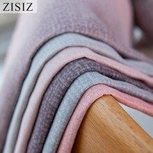 Полосатые светонепроницаемые шторы ZISIZ для гостиной, цветные шторы на окна для спальни, роскошные шторы, занавески