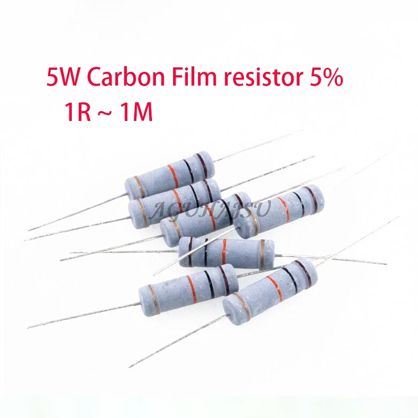 LOT of 2 CERAMIC RESISTORS 5W two 1 K