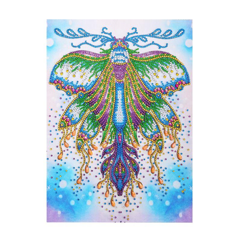 Купить с кэшбэком Butterfly 5D DIY Special Shaped Diamond Painting Diamond Embroidery Cross Stitch