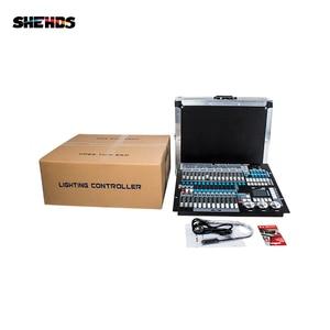 Чехол SHEHDS Flight With1KingKong DMX Conlose 1024 Многофункциональный сценический Контроллер освещения Dj Disco профессиональный светодиодный