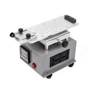 Image 4 - Mini Drehbare LCD Separator Heizung Platte Station für Handy Flache Rand Bildschirm Glas Split Maschine Trennung Reparatur Werkzeuge