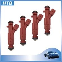 4 Uds nuevo 35310-2E000 inyector de combustible boquilla para Hyundai Elantra 1,8-2,0 L Kia 1.6L 2011-2015 Forte alma 2.0L 353102E000