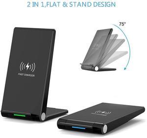Image 3 - FDGAO 15W Qi chargeur sans fil support de support de pliage Charge rapide pour iPhone 11 Pro XR X XS Max Samsung S20 S10 USB C Charge rapide