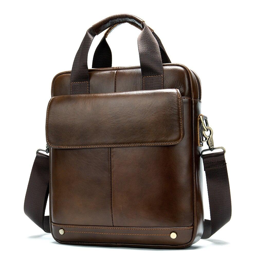 Men's Briefcase Bag Laptop Bag Business Tote For Document Office Portable Laptop Shoulder Bag Multi-Pocket Large Capacity 2020