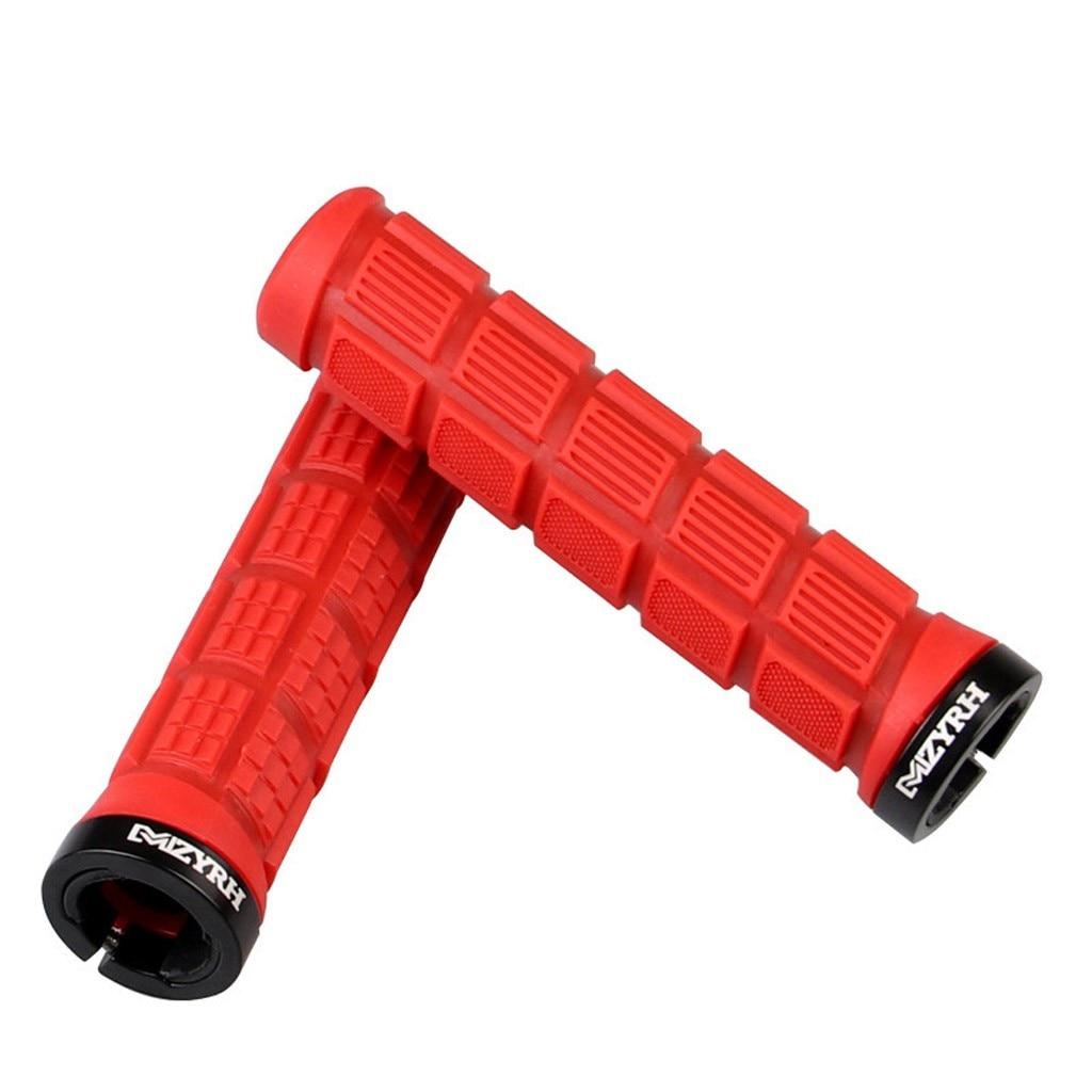 2PCS Bike Silicone Anti-slip Handlebar Grips For Mountain MTB Bicycle Cycle
