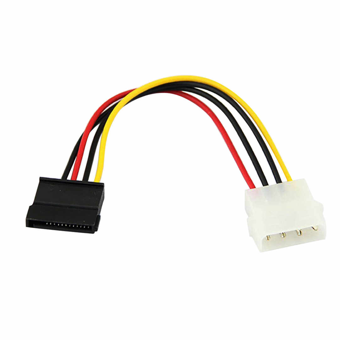 # 40New 18 Cm USB2.0 Ide Naar Serial Ata Sata Hdd Hard Drive Power Adapter Kabel Snoer Computer Kabels & connectoren Hoge Quallity
