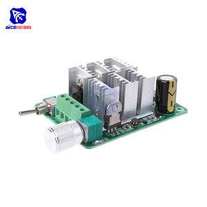 diymore BLDC 3 Phase Brushless Motor Speed Controller Board DC 5-36V Driver Controller Module Panel Bidirectional Brake for Fan(China)